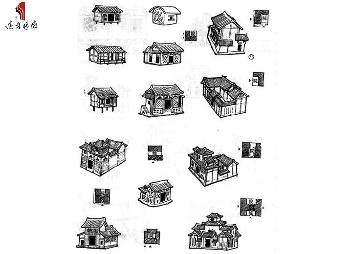 汉代民居建筑图片